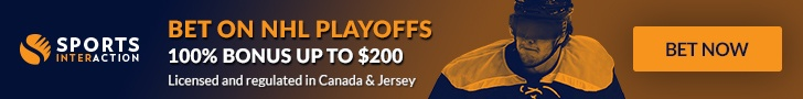Bet on NHL Playoffs - 100% Sign Up Bonus up to $200